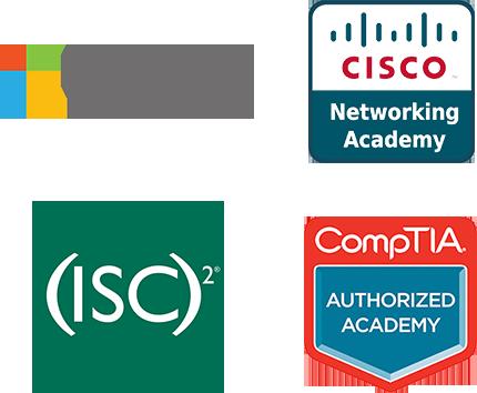 Academy Partner Logos Cyber