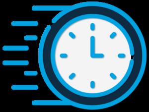 fast clock icon
